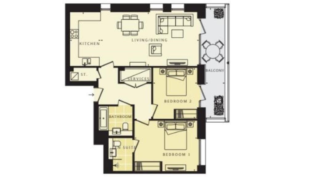 14 Mondrian Hous Floor plan (2)
