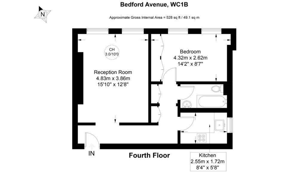 70a Bedfort Court Mansions