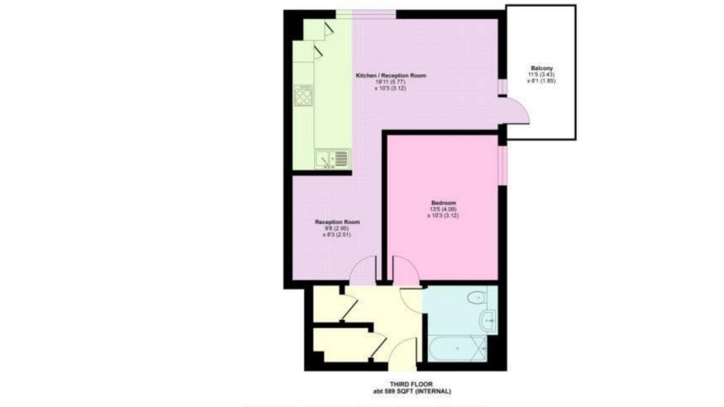 Ruby Mews floorplan
