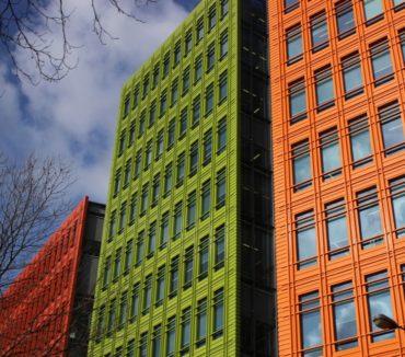 Офис Google в Лондоне. Здание St Giles